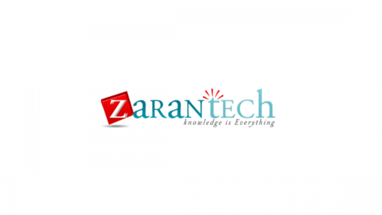 ZaranTech Software Pvt Ltd Internship