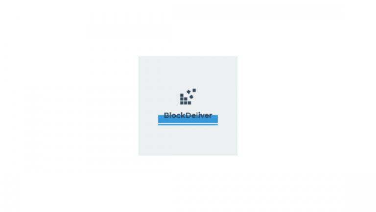 BlockDeliver Internship