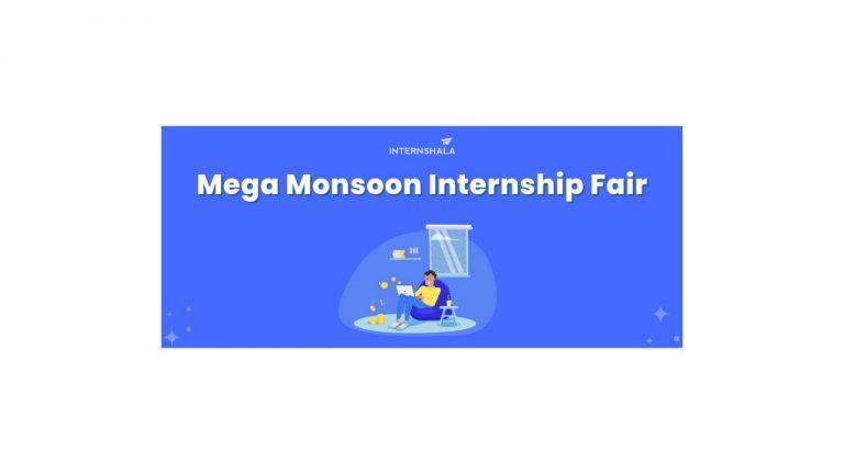 Mega Monsoon Internship